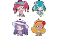Lawson Star Twinkle Summer Collab Rubber Keychains