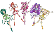 Pretty Cure 5 (no Aqua)