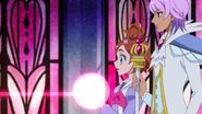 Haruka and Kanata arrive at the Princess Castle