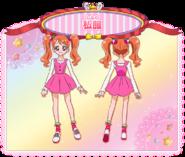 Perfiles de Ichika Usami con su vestimenta casual (Toei Animation)