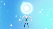 Princess formando la esfera de energia