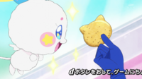 STPC23 Fuwa takes an interest in Yuni's cookie
