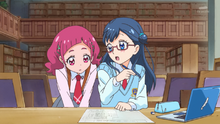 HuPC02-Hana interrupts Saaya's writing