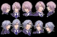 Rostros de JinJin y Takumi