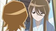 Satsuki recomendando a su hermana que siga el camino que ella misma elija