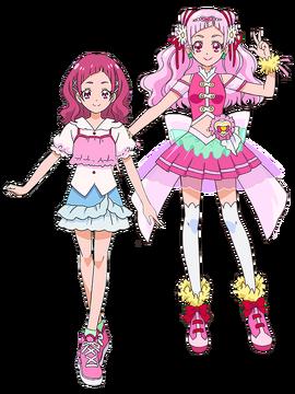 Hana Nono y Cure Yell