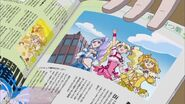 Las Pretty Cure en una revista
