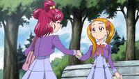 Nozomi meets Urara