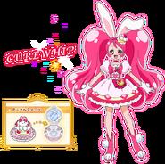 Perfil de Cure Whip (TV Asahi)