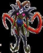 Perfil de Kawarino en su forma monstruo