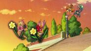 28. Flora y Scarlet atacando a las flores