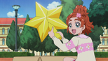 Haruka with the big gold star
