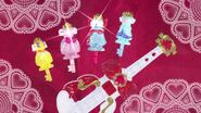 Llaves de Vestir de Flora, Mermaid, Twinkle y Scarlet al final del episodio 23