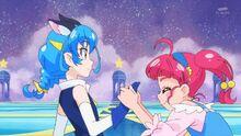 STPC21 Hikaru is happy for Blue Cat