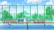 Теннисная площадка