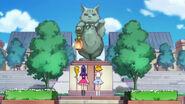 03. Riko y Mirai observando una estatua