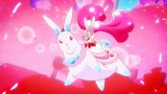 Cure Whip A la Mode Style en el conejo de cristal