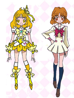 Heartcatch Flowers Pretty Cure! Riko Mahame