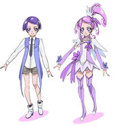 Kenzaki Makoto-Cure Sword (Official)