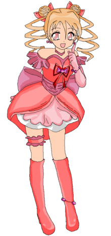 Cure Candy Sweet Pretty Cure by Anime1423