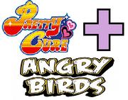 Precure Angry Birds Logo