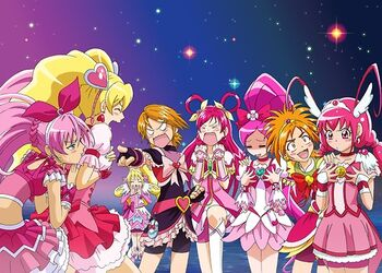 Pretty Cure All Stars Leaders