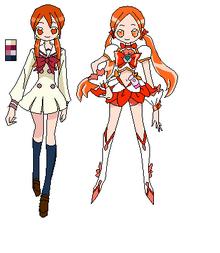 Heartcatch Flowers Pretty Cure! Sayuri Nara