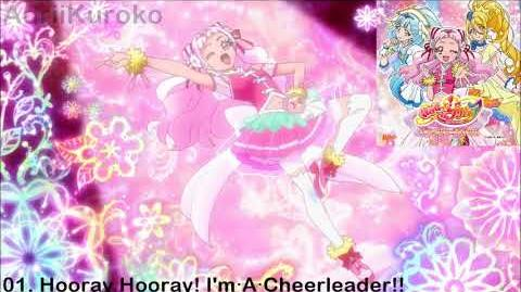HUGtto! Precure Character Song Single - 01. Hooray Hooray! I'm・A・Cheerleader!!