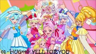 HUGtto! Precure 2nd ED Single Track 01 - HUGtto! YELL FOR YOU FULL