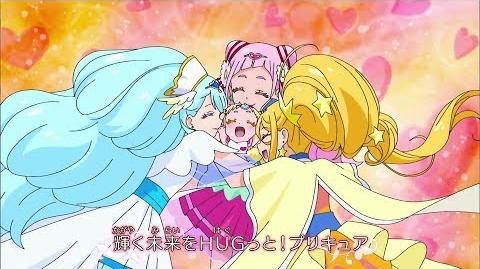 NEW 1080p HUGtto! Pretty Cure Opening 1