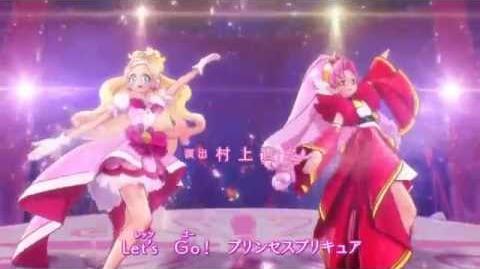 Go! Princess Precure Ending 2 cure flora ver. HD