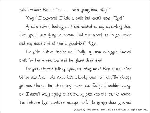 Alison's Pretty Little Diary 09