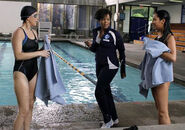 Coach fulton at the pool