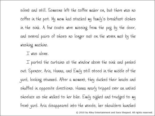 Alison's Pretty Little Diary 11