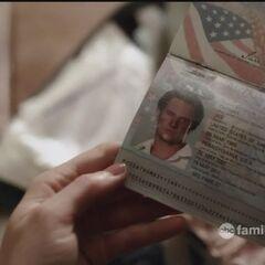 Ian's passport