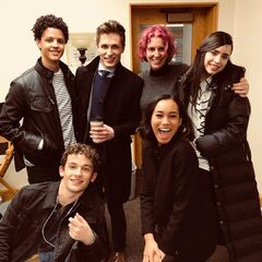 Jacques with The Perfectionists cast