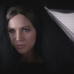 Sara Harvey is Black Widow