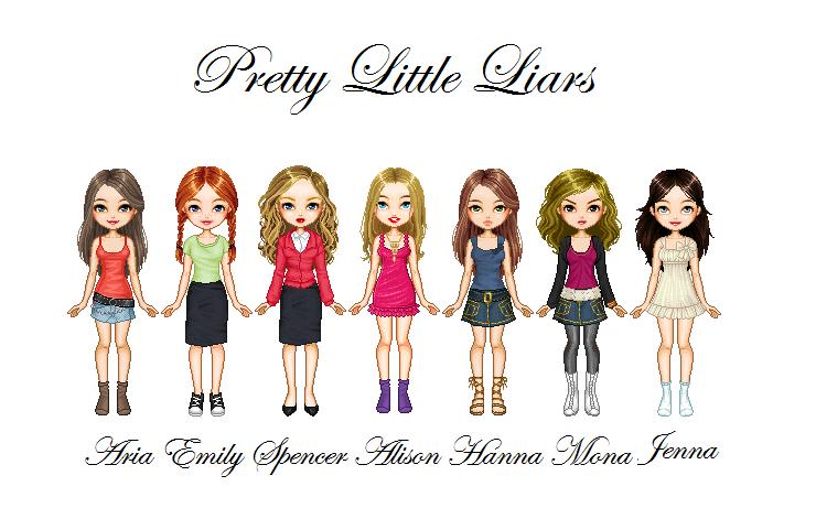 Pretty Little Liars Book Series