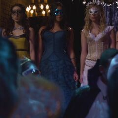 The Liars making entrance
