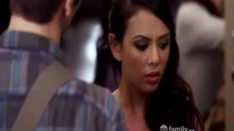Pretty Little Liars - Noel makes Mona cry - 02x17