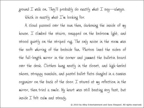 Alison's Pretty Little Diary 13