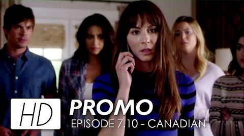 "Pretty Little Liars 7x10 Canadian Promo ""The DArkest Knight"" HD"