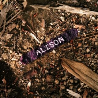 Alison's bracelet found on the ground