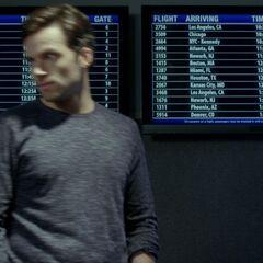 Ezra in airport