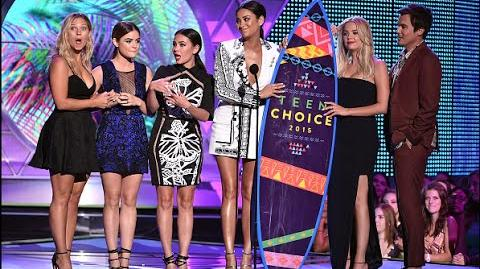 Pretty Little Liars - Teen Choice Awards 2015