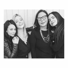 Sofia with Marlene, Sasha, and Janel