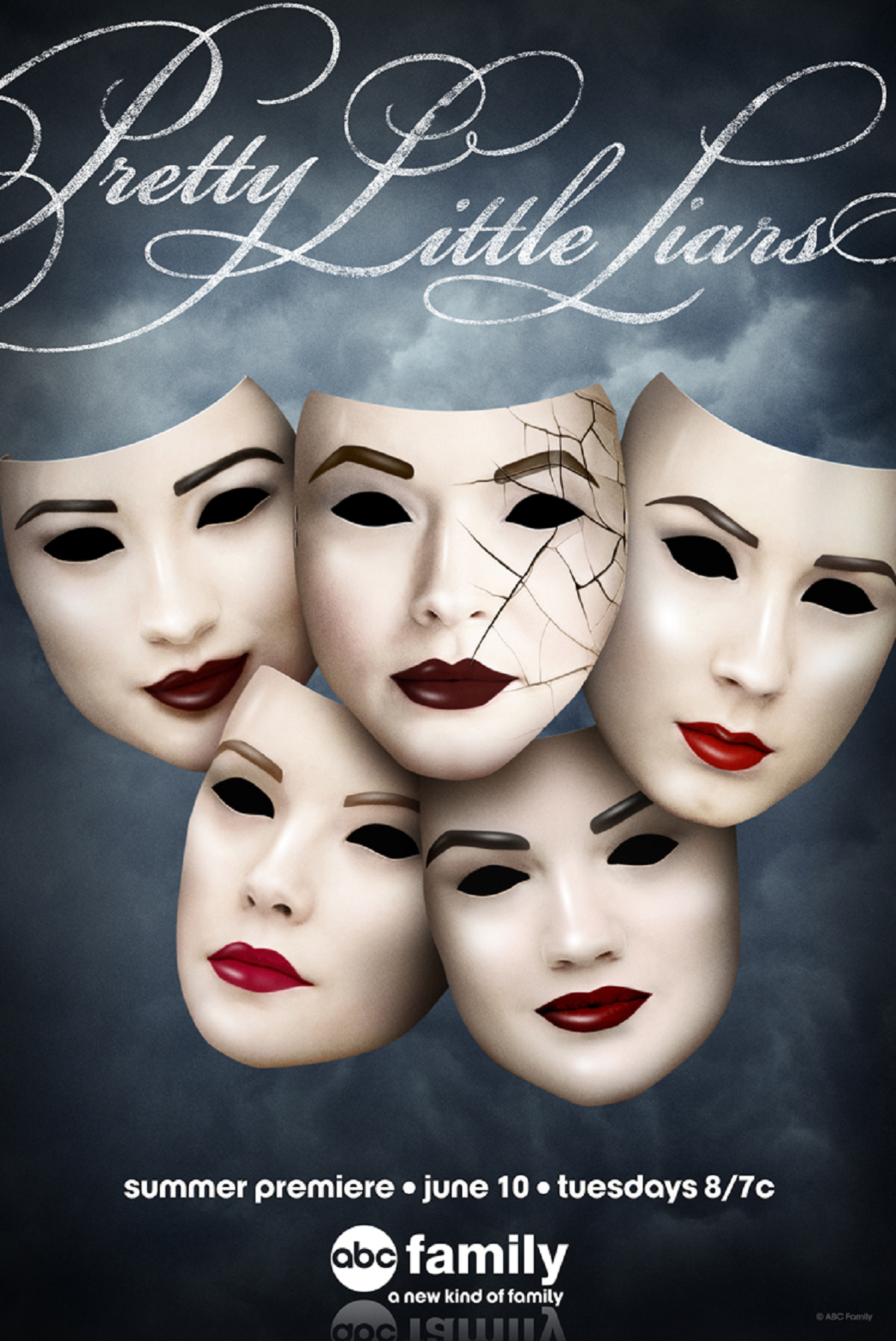 Pretty Little Liars Season 4 Promo Poster