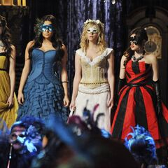 The Liars entering the ball