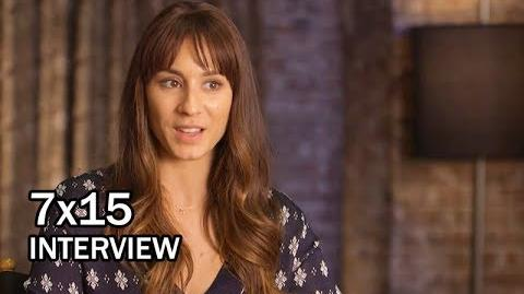 Pretty Little Liars 7x15 BTS Interview - Troian Bellisario's Directorial Debut