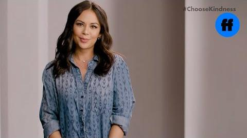 -ChooseKindness with Janel Parrish and Sasha Pieterse - Freeform